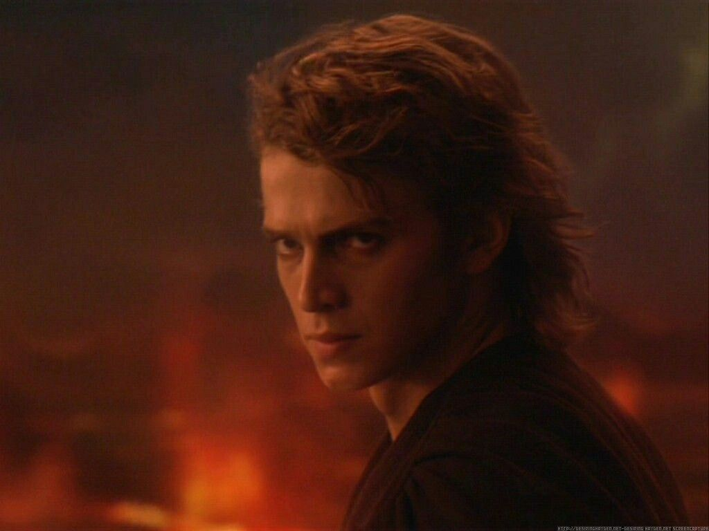 Anakin Skywalker On Mustafar Star Wars Episode Iii Revenge Of The Sith In 2020 Star Wars Anakin Anakin Skywalker Star Wars Film