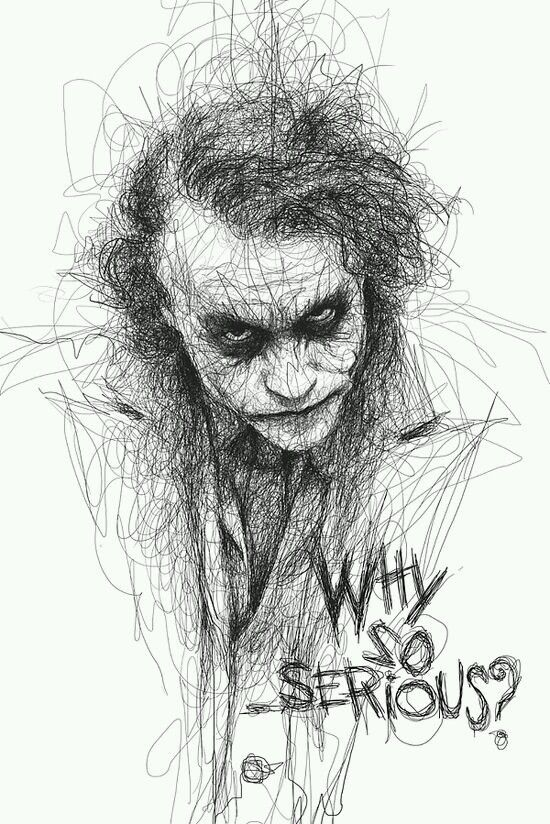 Cool Joker. The best sketches I have ever seen.