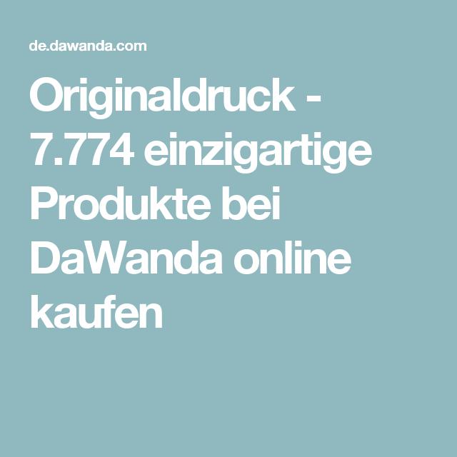 Originaldruck - 7.774 einzigartige Produkte bei DaWanda online kaufen
