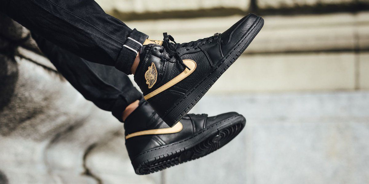 d9a93fc74b6ca3 Nike Air Jordan 1 Retro High BHM (908656-001) Black History Month ...