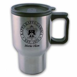Kappa Kappa Gamma Travel Mug SALE $18.95. - Greek Clothing and Merchandise - Greek Gear®