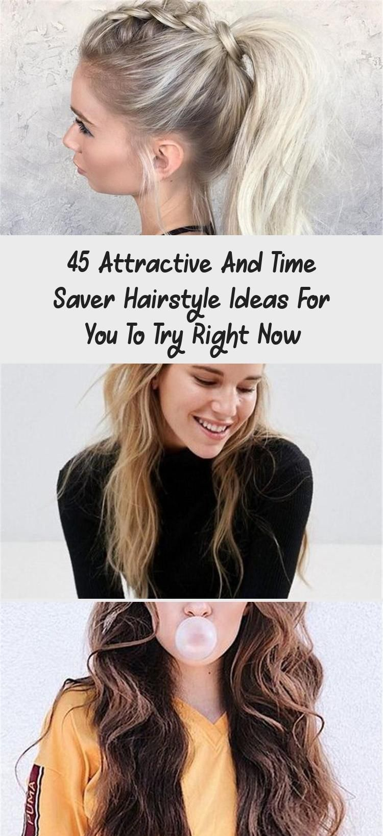 Photo of 45 Attractive And Time Saver Hairstyle Ideas For You To Try Right Now – Pinokyo …