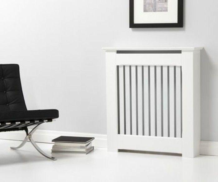 voyez les meilleurs design de cache radiateur en photos cache radiateur radiateur et bois blanc. Black Bedroom Furniture Sets. Home Design Ideas