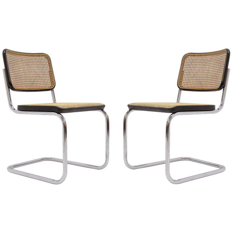 Marcel breuer s32 side chairs 1977 side chairs chair