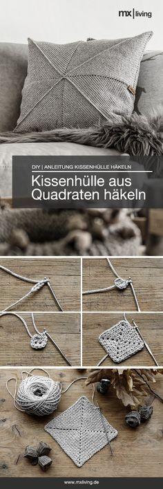 DIY | Kissenhülle häkeln - mxliving