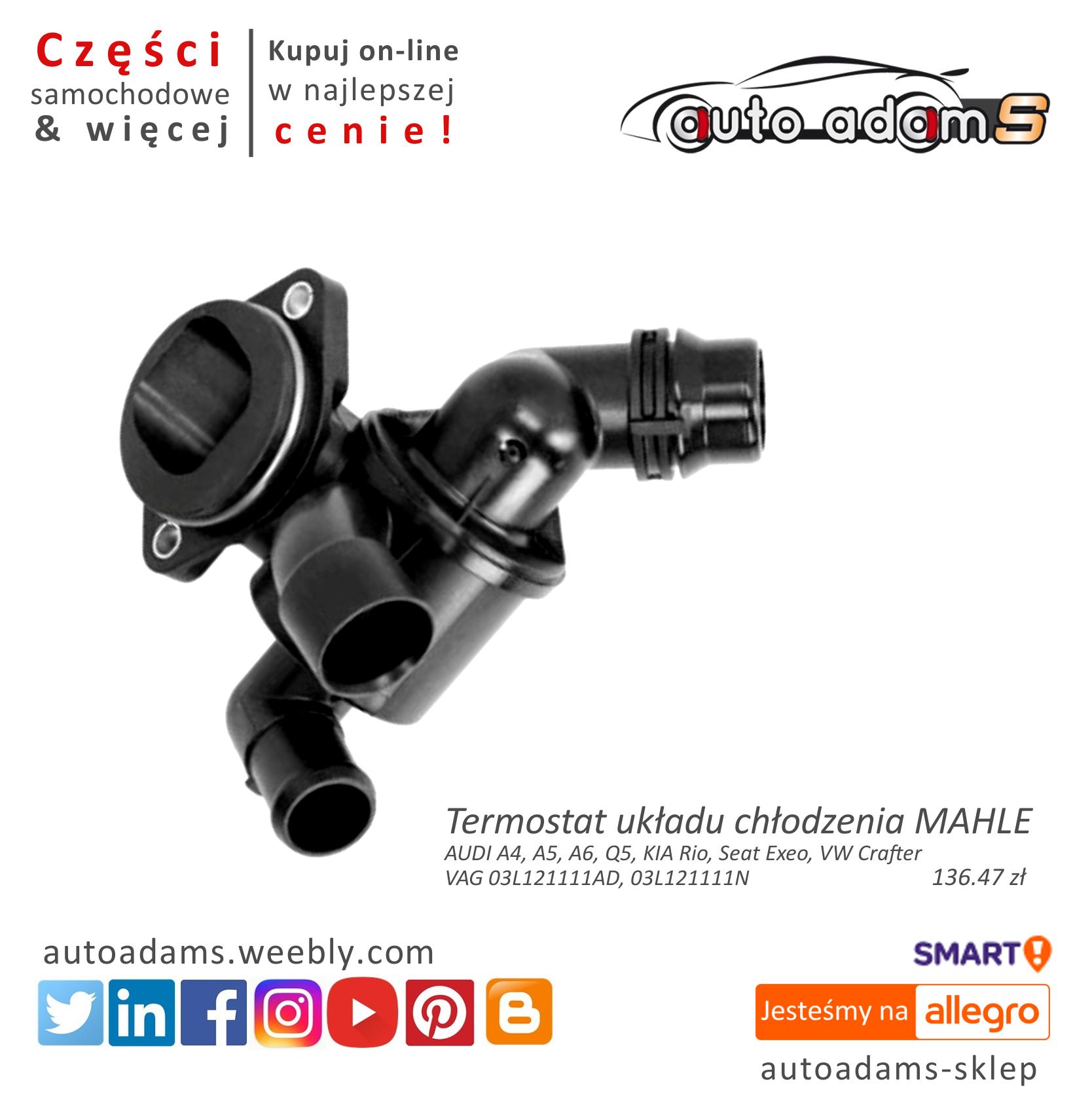 Termostat Mahle Behr Audi Kia Seat Vw Ti3487 8881253256 Oficjalne Archiwum Allegro Audi Kia Behr