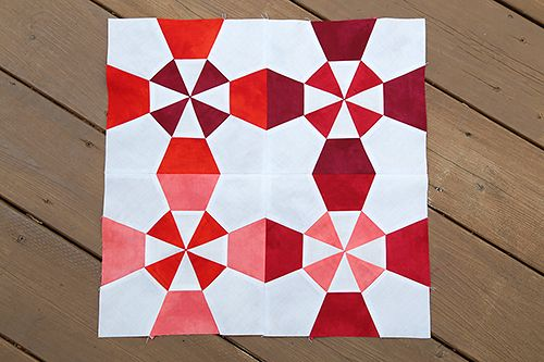 Lighthouse Quilt Block by Fresh Lemons Quilts : Faith  Love the added depth and interest of doing a red and white quilt with a variety of red shades rather than just one.