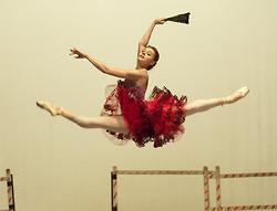 Oksana Bondareva of Mikhailovsky Theatre rehearsing Kitri from 'Don Quixote'.