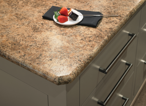 7732 Butterum Granite With Ideal Edge™ Laminate Countertops From Formica®  Brand Laminate