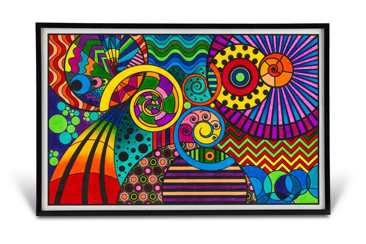 Crayola Color Escapes Inspiraled Crayola coloring