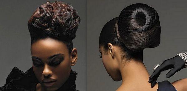 Remarkable 1000 Images About Karen Wedding Board On Pinterest Black Women Short Hairstyles Gunalazisus