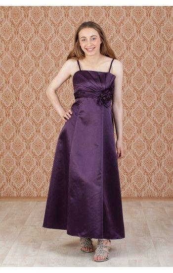 Dark Purple Bridesmaid Dress
