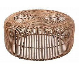 HK living Rotan coffee table