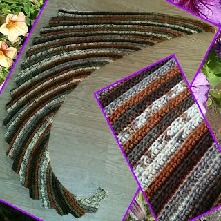 Drachentuch Schals Und Tücher Häkelanleitung Pinterest