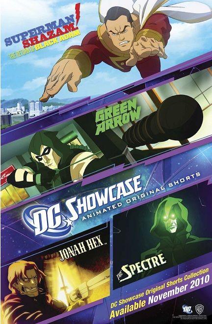 Pelicula Dc Showcase 2010 Cortos De Superman Shazam El Regreso De Black Adam Arrow Jonah Hex Y The Spectre Adventure Movies Sci Fi Movies Movies