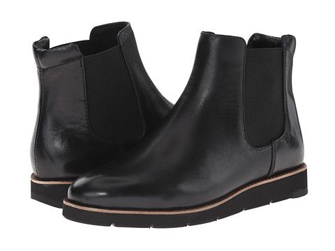Johnston  Murphy Bree Gore Ankle Boot Black  style