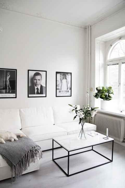 22 Examples Of Minimal Interior Design 35 Modern White Living Room Minimalist Living Room Design Modern Minimalist Living Room