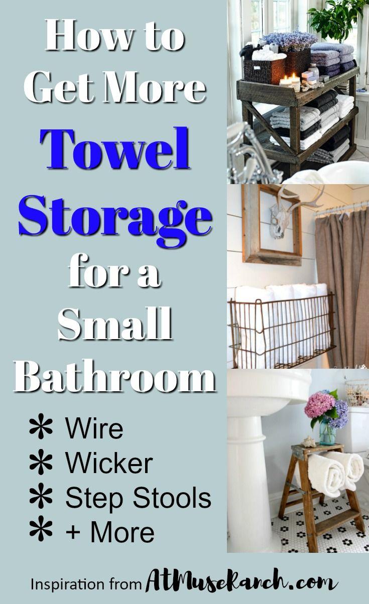 10 Genius Ways to Get More Towel Storage in a Small Bathroom   Towel ...