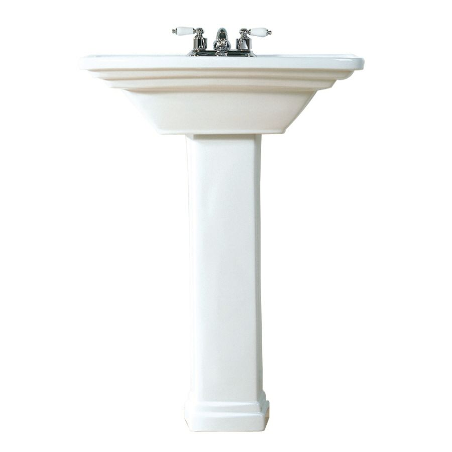 sink american of pedestal lowes better retrospect style age house standard washstand than ceramic table console w matches
