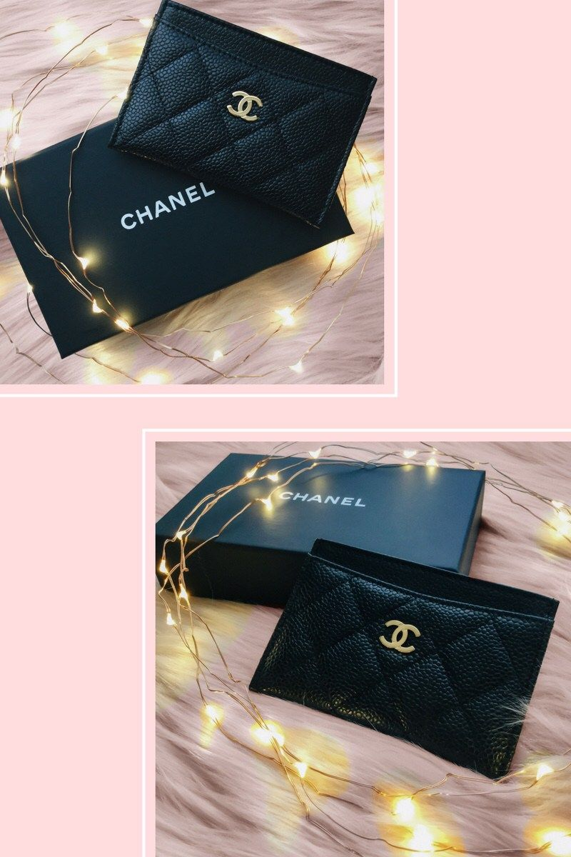bb6c0dd89a5f1a Soft October Night – A Style and Creativity Blog - Chanel Card Holder  Unboxing - Soft October Night - A Style and Creativity Blog