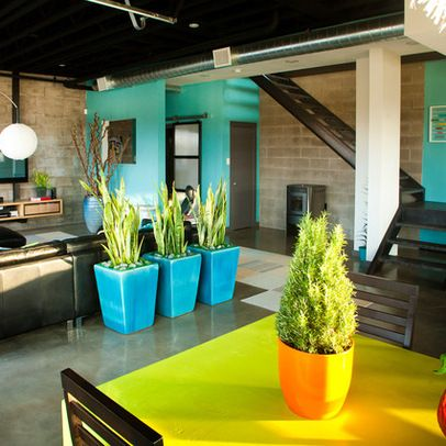 Cinder Block Walls Design Ideas, Pictures, Remodel, and ...