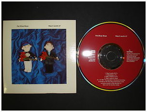At £9.88  http://www.ebay.co.uk/itm/Pet-Shop-Boys-Was-Worth-It-CD-Single-CDR-6306-1991-/251151461791