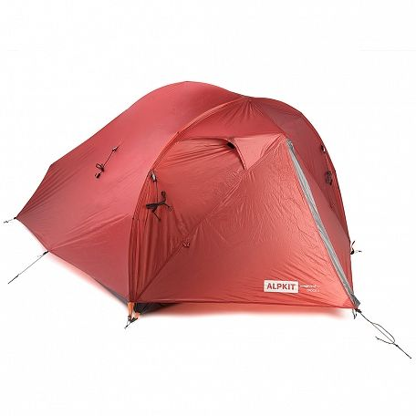 Lightweight 2 person backpacking tent with DAC aluminium poles and siliconised ripstop nylon weighing kg.  sc 1 st  Pinterest & We got ourselves an AMAZING lightweight tent for the road: Alpkit ...