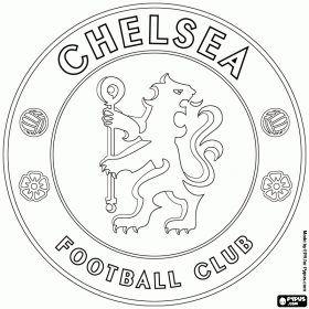 Chelsea Kleurplaten