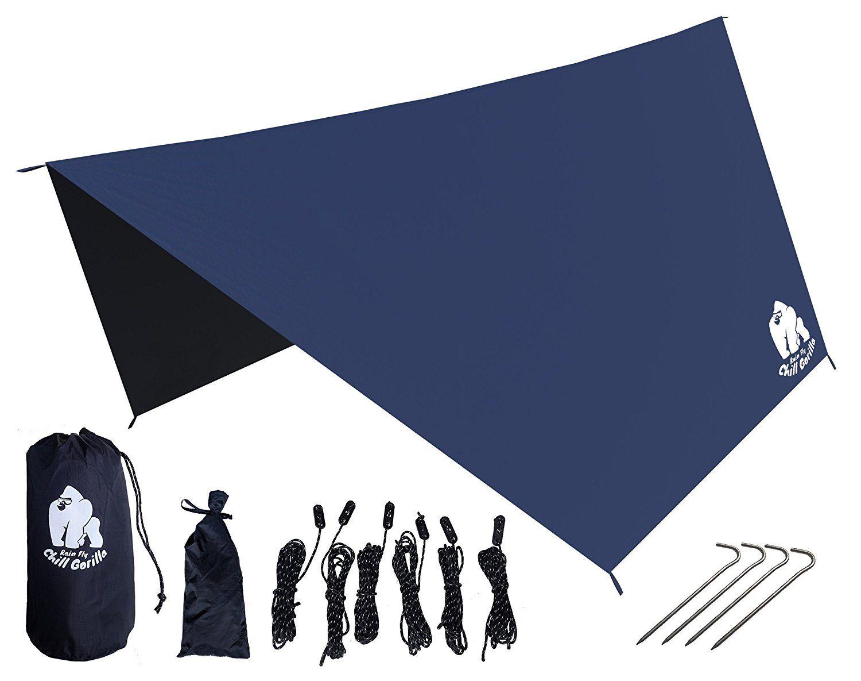 Waterproof Tent Tarp Rain Fly Hammock Rain Fly Rain