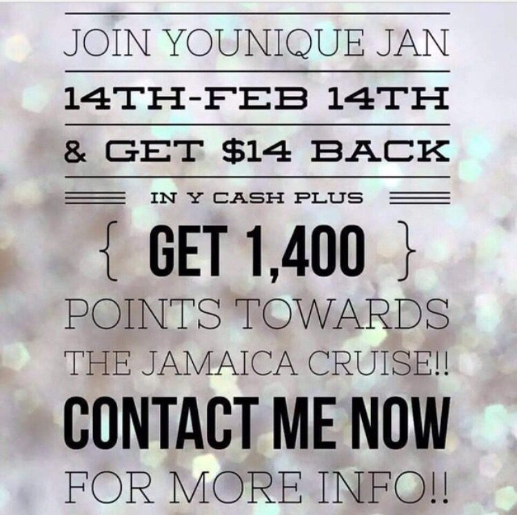 Become a younique presenter today! We are launching in Mexico and Germany very soon! Be the first there! Not to mention we just launched in the UK in November. Company only two years new. Get started! Click www.youniqueproducts.com/dariasignorotti