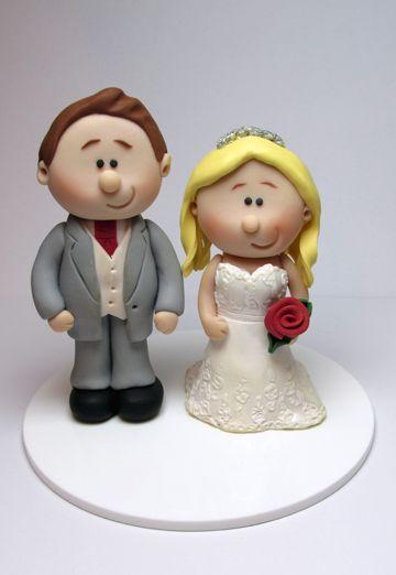 Personalised Wedding Cake Figurines
