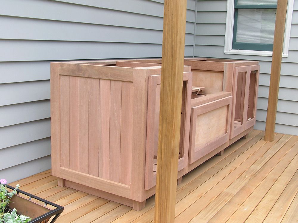 Wooden Outdoor Cabinet   Google Search