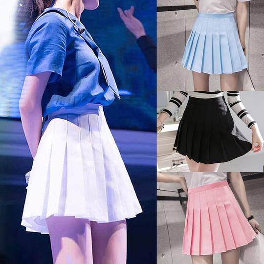 2018 New Arrival Young Pleated High Waist Mini Skirts Summer Sweet Sou Geekbuyig Mini Skirts Skirt Outfits Fall Spring Skirt Outfits