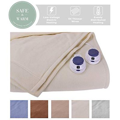 Top 10 Best Electric Blankets To Buy In 2019 Reviews Electric