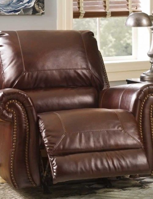 brown leather recliner with nailhead trim & brown leather recliner with nailhead trim | SOFAS u0026 FUTONS ... islam-shia.org