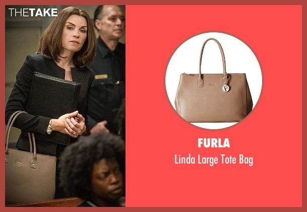 Furla Linda Large Tote Bag As Seen On Alicia Florrick In The Good Wife Thetake