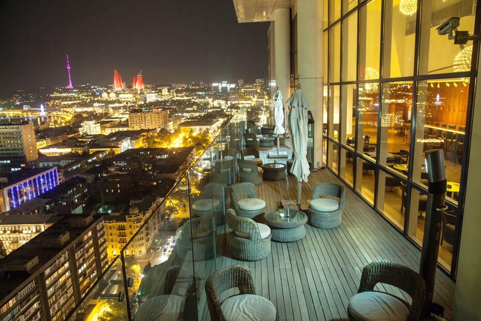 Restaurants In Baku With The Best City View Baku City Best Cities Baku