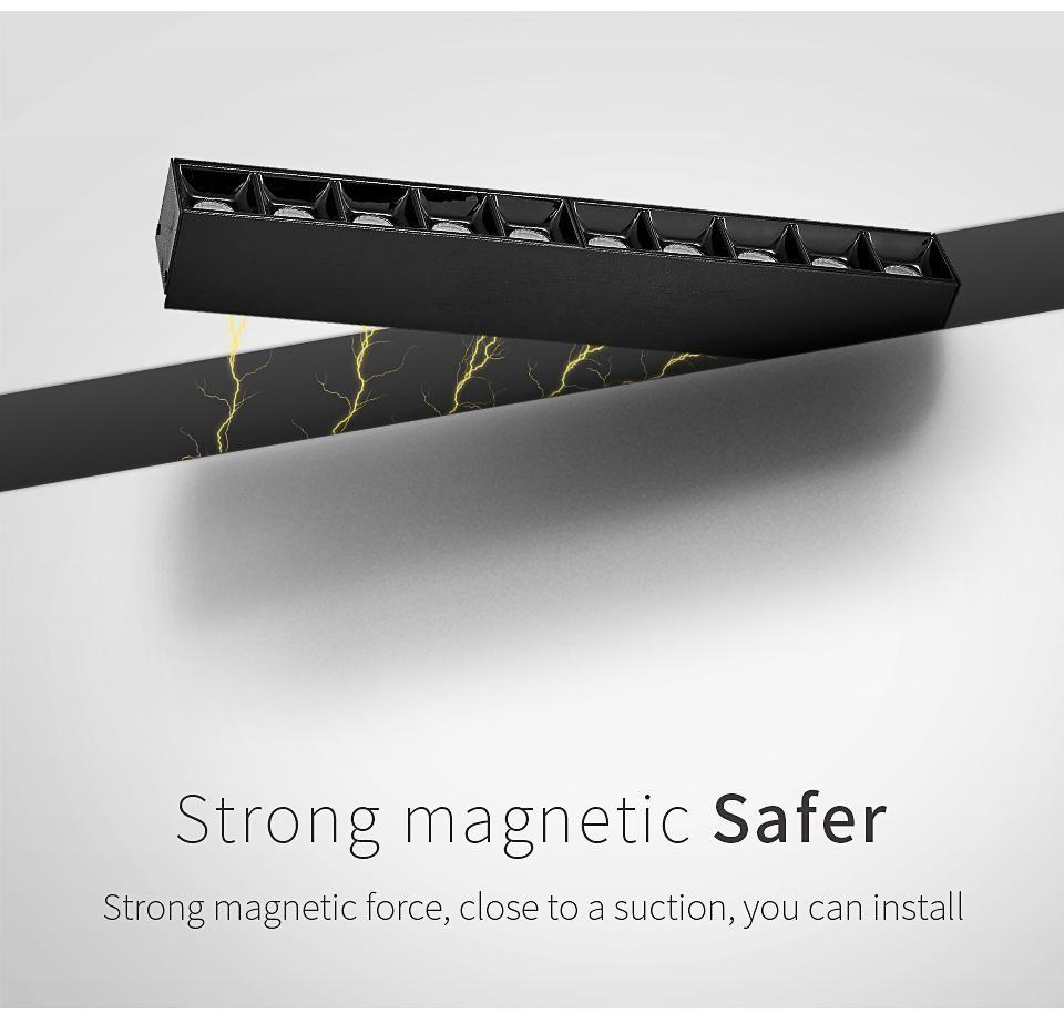 5w 10w 15w 30w 90 Degree Luminaire Linear Indoor Magnetic Led Light Usky Led Lamp Holder Led Lights Led Strip Lighting