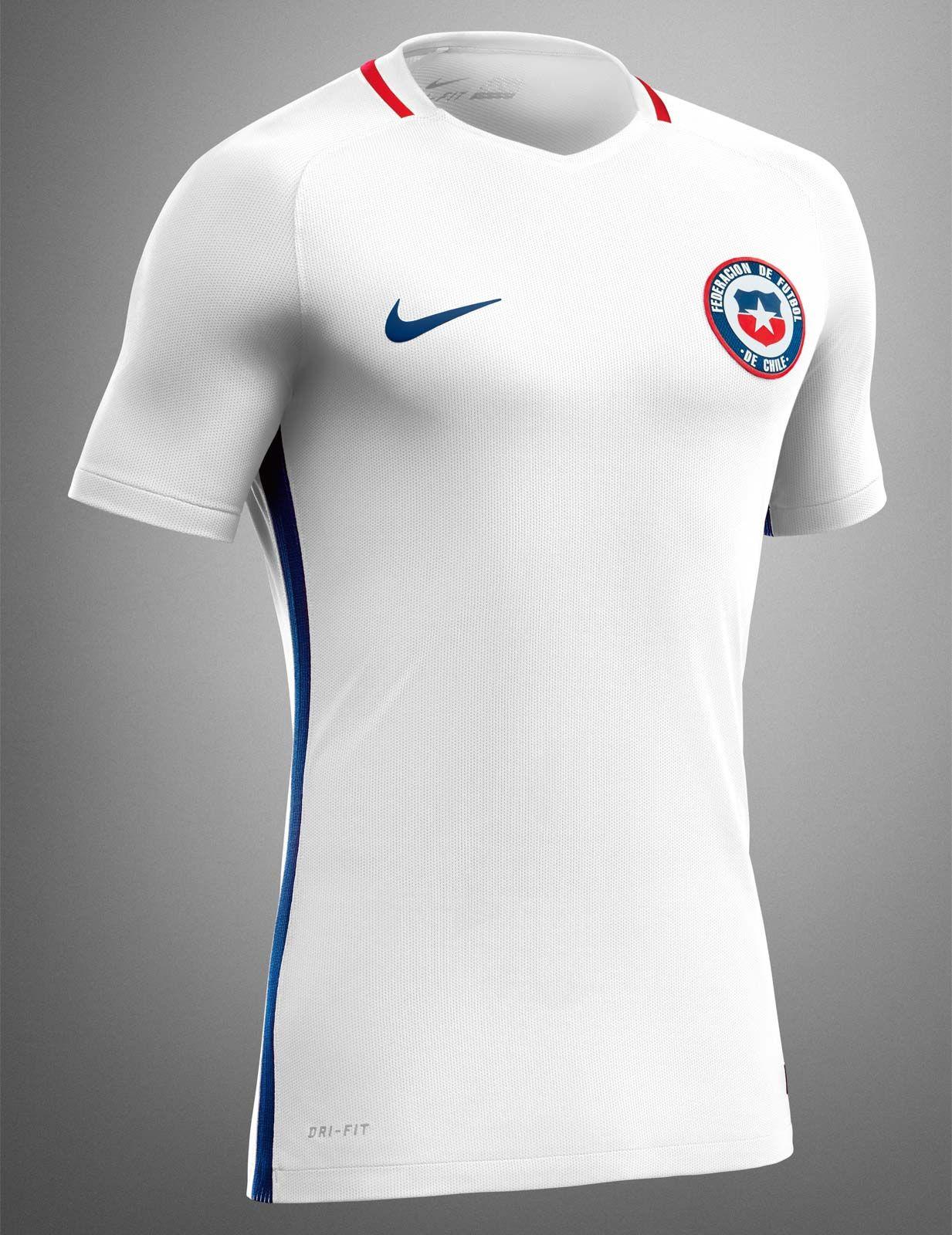Camisas do Chile 2016-2017 Nike Copa América Centenário  e207d579b5946