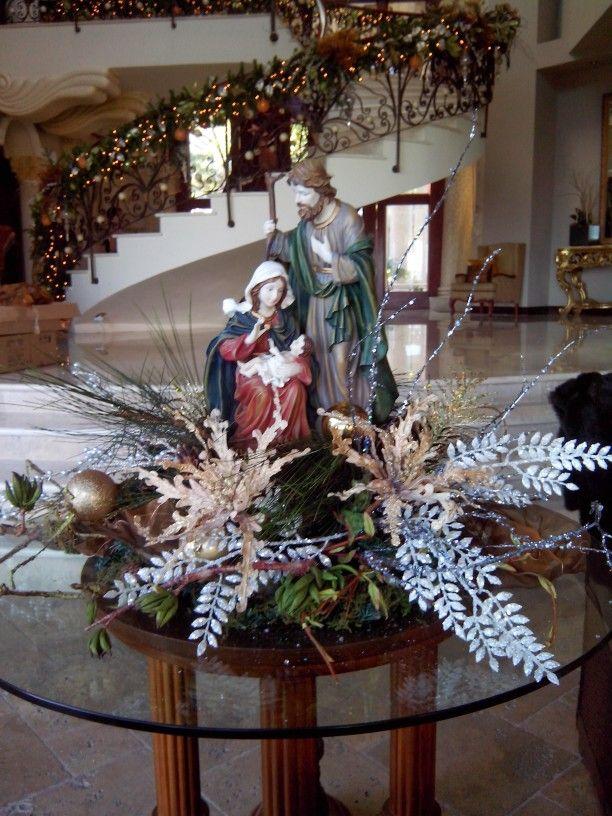 Sagrada familia decorada