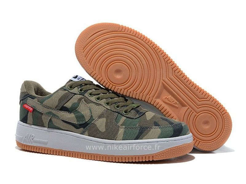 newest 3b583 91de0 Nike Air Force 1 Basse Toile Camo Chaussure pour Homme Nike Air Force 1 Gs