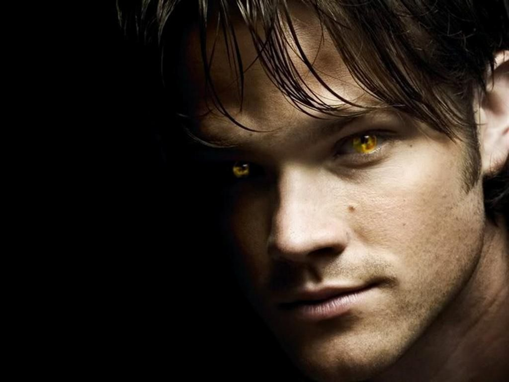 Holy hotness this sam needs to come back supernatural - Scary yellow eyes ...