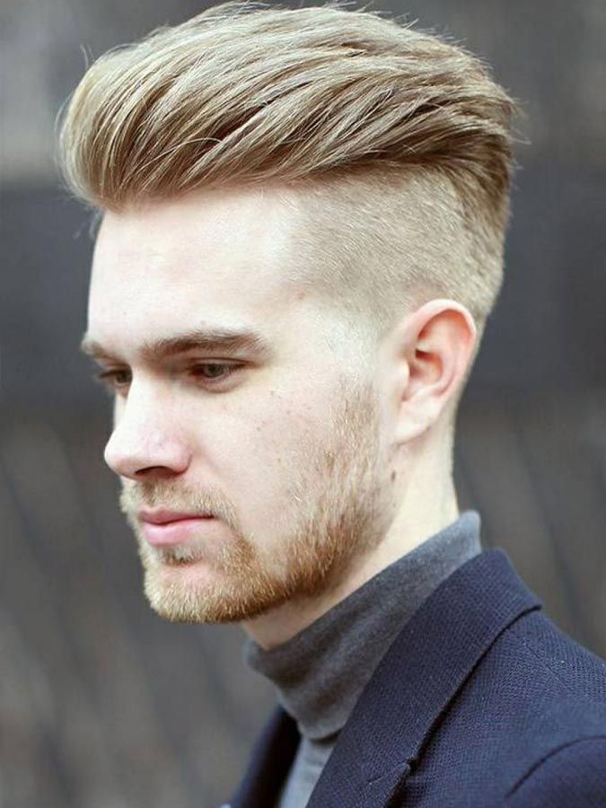 Pin On Brush Up Hairstyle For Men