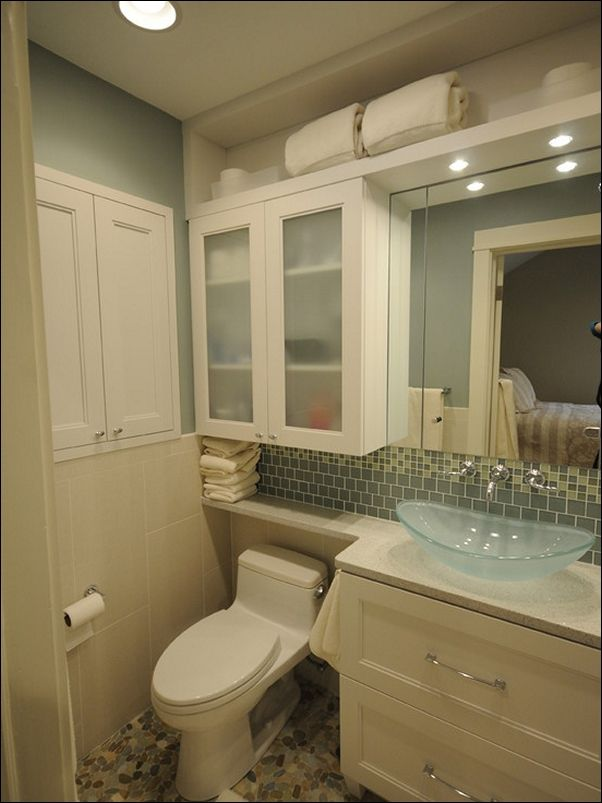 Bathroom Over Toilet Storage Ideas