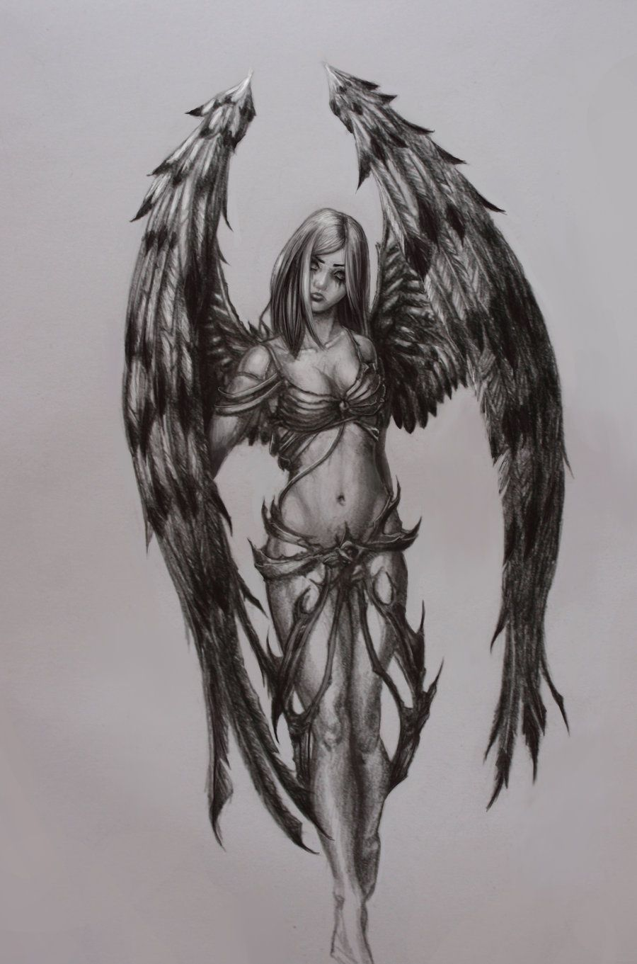 Pin by Katri H. on My odd Inspirations | Pinterest ... Angel Drawings In Pencil