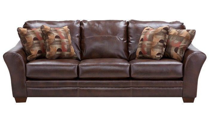 Slumberland Furniture Brockport Collection Brown Sofa