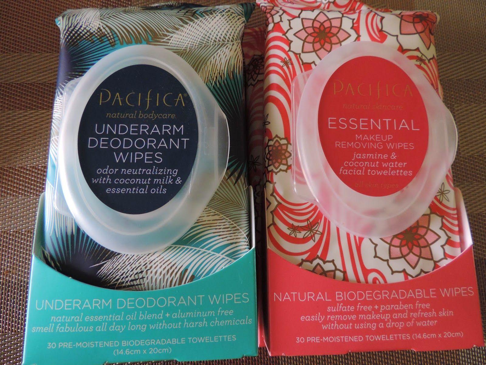 Pacifica Makeup Wipes Remover & Underarm Deodorant Wipes