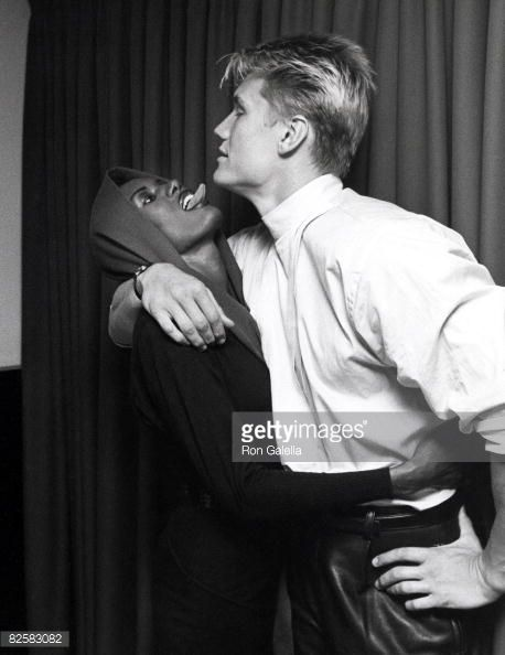 Grace Jones and Dolph Lundgren | Dolph Lungren | Pinterest ...
