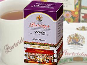 パートリッジの名を冠にしたスペシャルティー!!英国王室御用達 パートリッジ紅茶ティーバッグ(2g×25袋)アッサム   timein.jp
