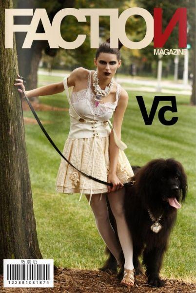 Brunette bun swirl.  Hair Styling: James Pillatzke & Beckie Tuttle, Fashion Design: Sarah Nelsen, Photography: Jeff Evrard, Models: Seven Model Management